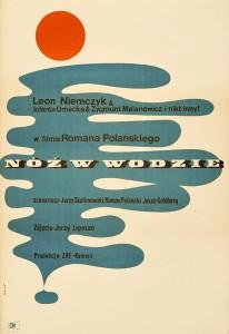 Maciej-Hibner-Nóż-w-wodzie-1962-plakat