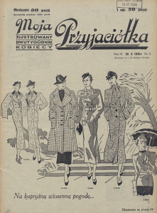 Moja Przyjaciółka,25.III.1936 r.
