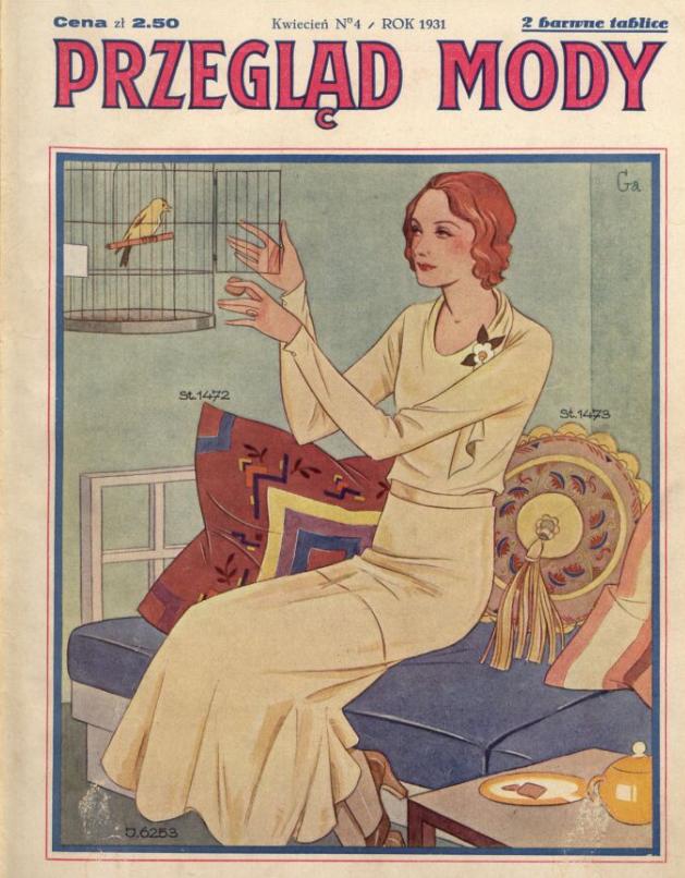 Przegląd Mody,R.9, nr 4 (1931)