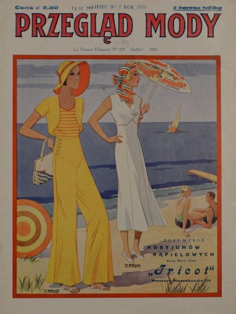 Przegląd Mody,R.10, nr 7 (1932)