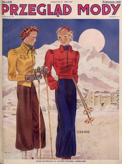 Przegląd Mody,R.15, nr 11 (1937)