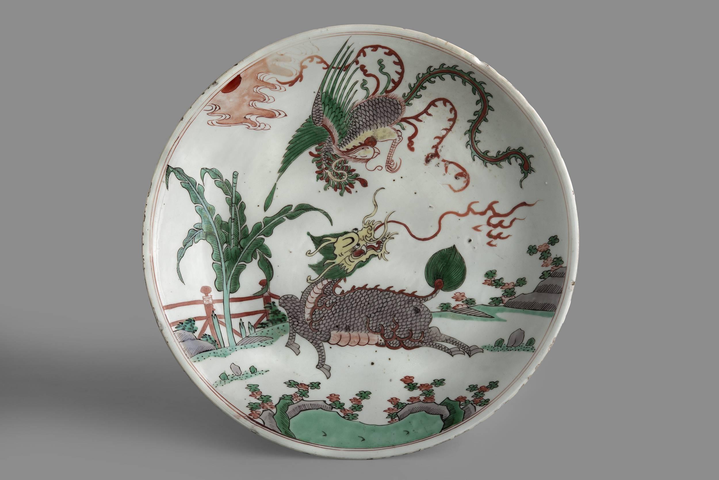 Decorative platter, 18/19th century