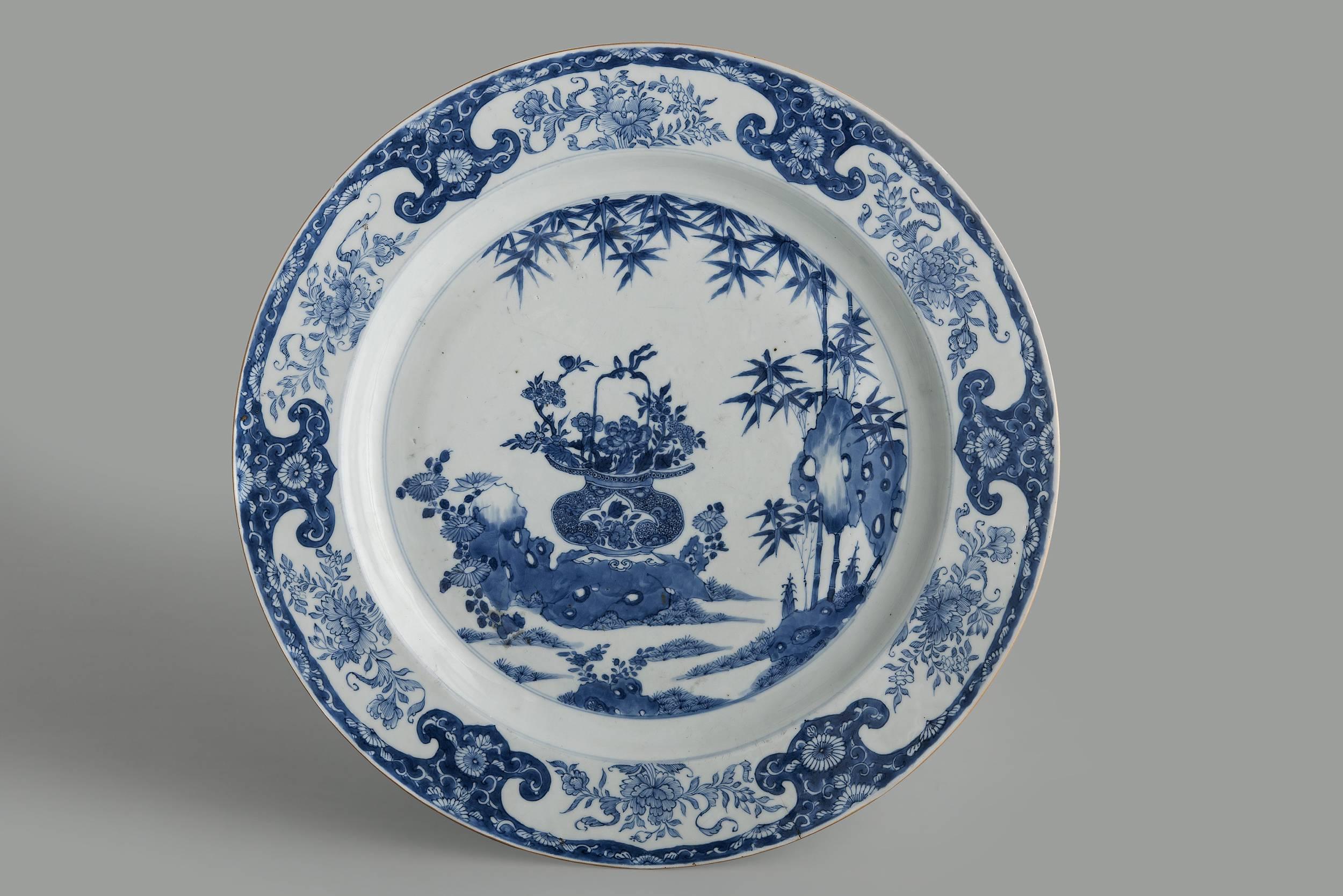 Decorative platter, 1st half of the 18th century