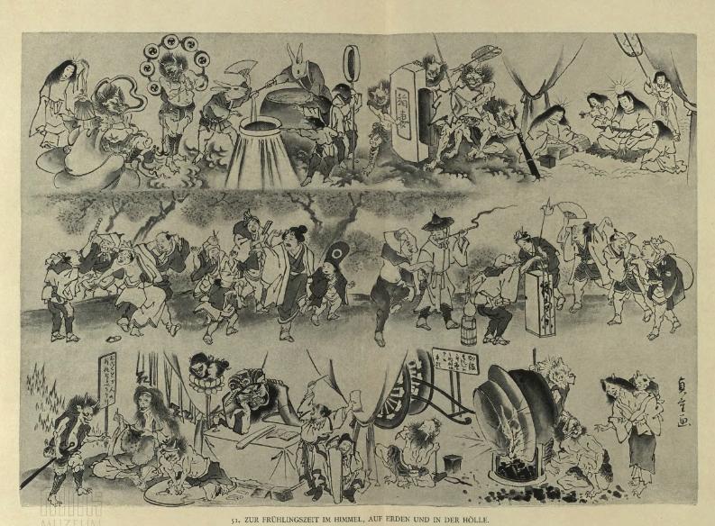 Japanischer Humor; 1901 r.