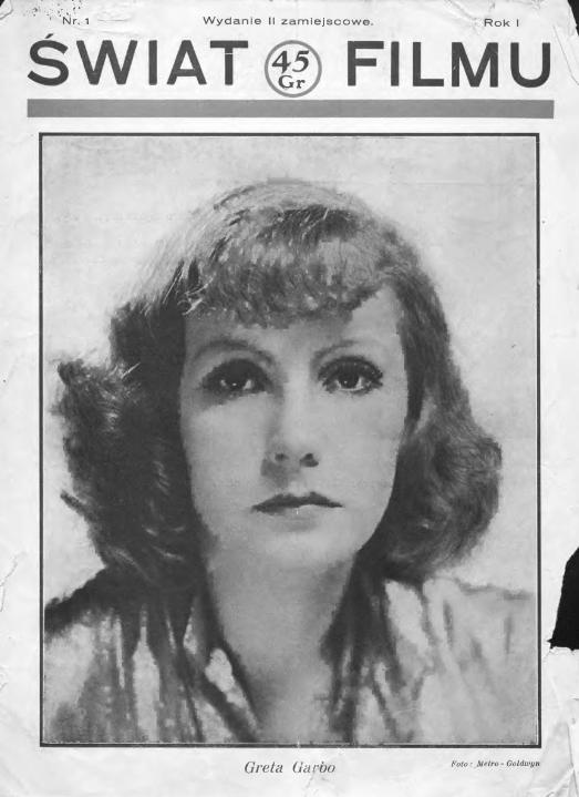 Świat filmu, 1932 nr 1