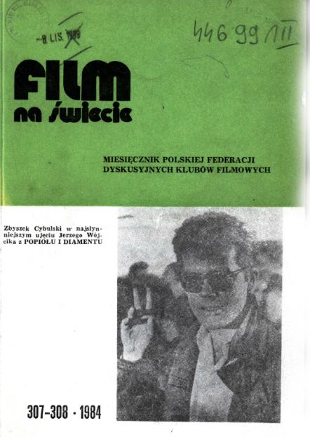 Film na świecie, 1984 nr 307-308