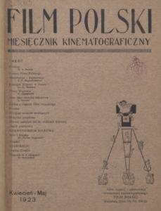 Film polski, nr 1, 1923 r.