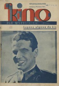 Kino dla wszystkich, kwiecień, 1933 r.