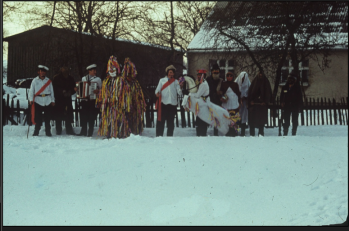 Gwiazdki - a Kashubian band of masqueraders from Nowa Wieś Kartuska