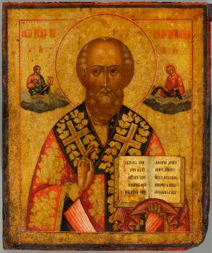 Ikona: Św. Mikołaj Cudotwórca