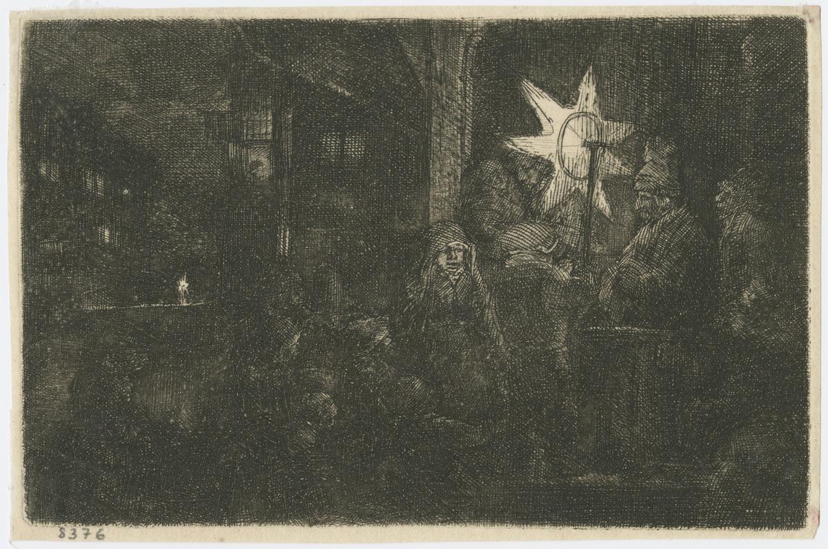 Rembrandt van Rijn - The Star of the Kings