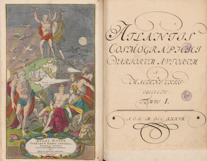 Cosmographic atlas from Machnizcy collection, 18th century