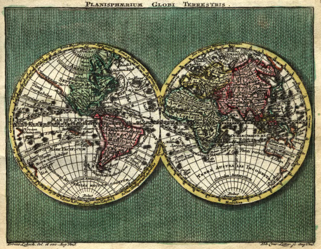 Geographic atlas, 1760