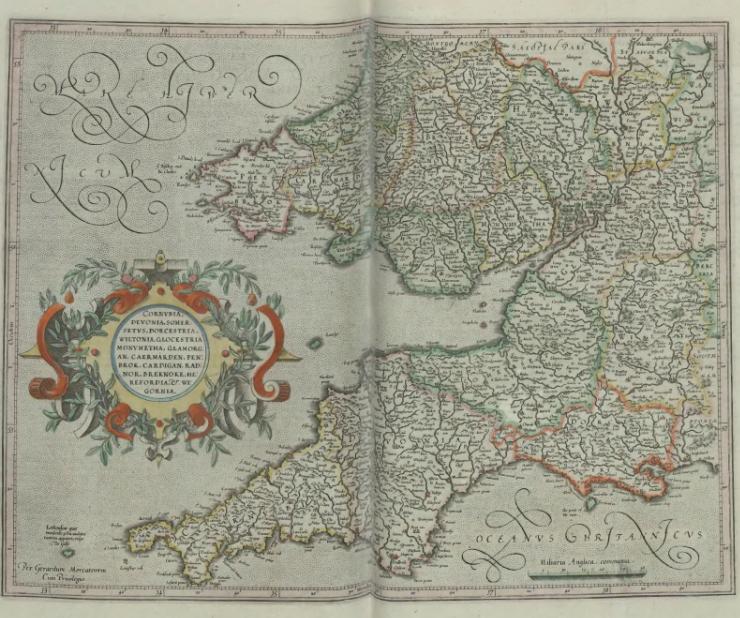 Cosmographic atlas, 1628
