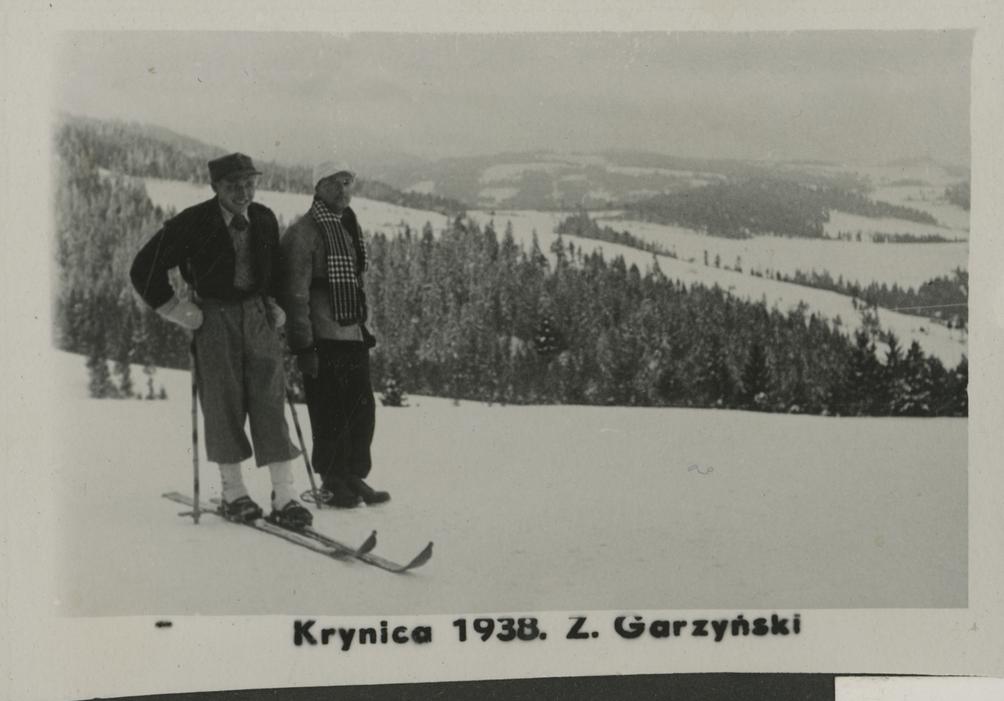 Skiing in Krynica, 1938