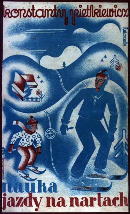 Guidebook of skiing