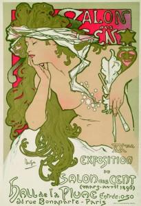 XXme Exposition du Salon des Cent; Alfons Mucha