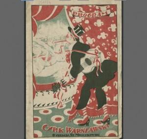 Warsaw circus - programme
