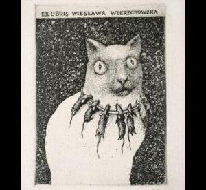 Ex libris Wierzchowskiej