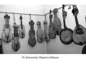 Instrumenty Zbigniewa Butryna