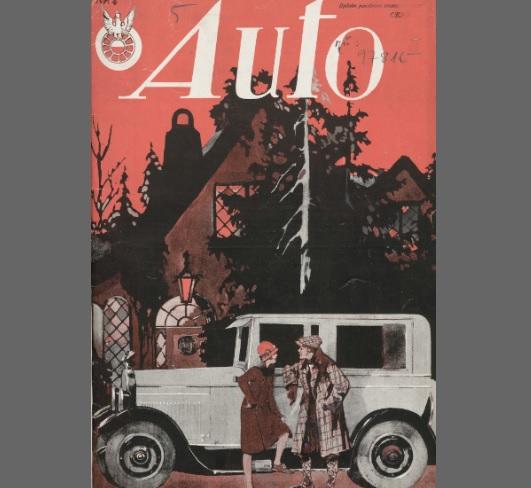 Auto: ilustrowane czasopismo sportowo-techniczne
