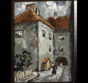 Frank's tenement house in Vilnius
