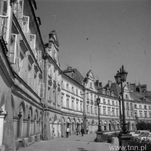 Tenement houses by Castle Square