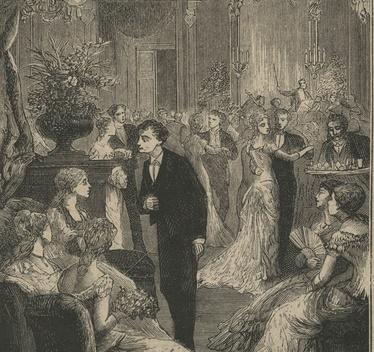 Bal sylwestrowy, 1883 r.
