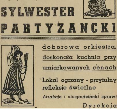 Sylwester partyzancki