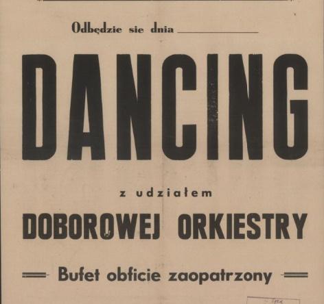 Dancing z udziałem doborowej orkiestry