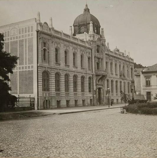 Gmach banku w Warszawie