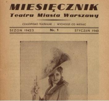 Miesięcznik Teatru Miasta Warszawy