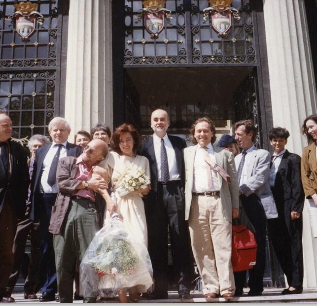 Ślub Adama Zagajewskiego z Mają Wodecką