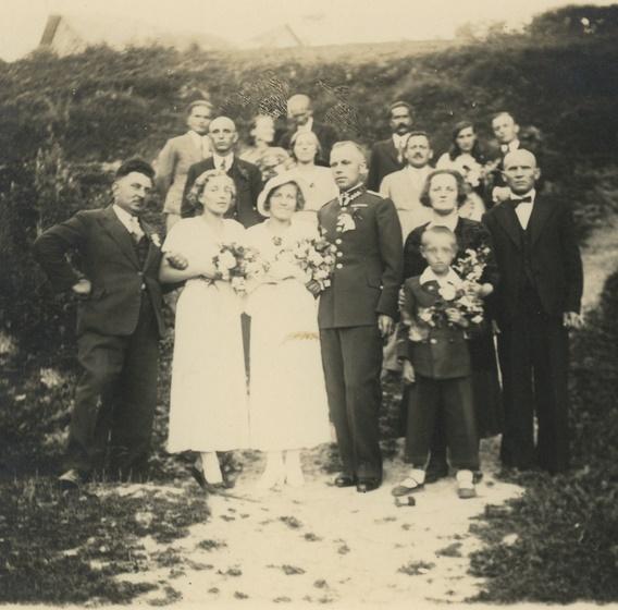 Ślub Heleny i Władysława Beraków