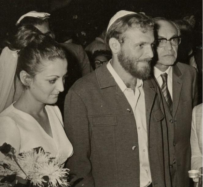 Ślub Racheli i Aleksa Dancygów