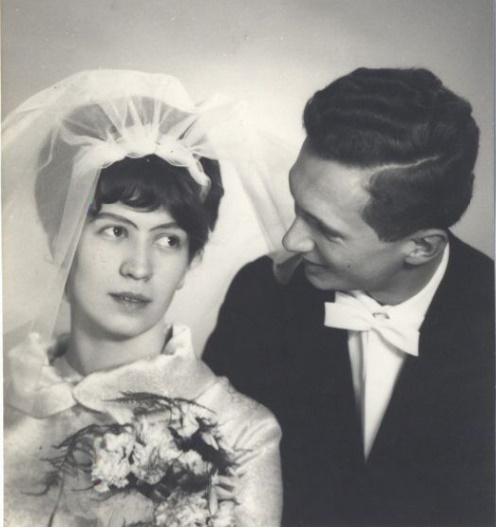 Portret ślubny Elżbiety i Grzegorza Eymanów