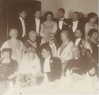 Ślub Zofii i Pawła Mussilów