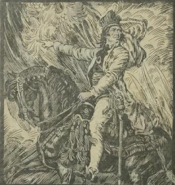 Kościuszko na koniu