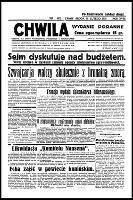 Chwila : dziennik dla spraw politycznych, społecznych i kulturalnych, R.18, nr 6075 (19 lutego 1936)