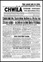 Chwila : dziennik dla spraw politycznych, społecznych i kulturalnych, R.18, nr 6077 (21 lutego 1936)