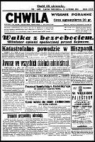 Chwila : dziennik dla spraw politycznych, społecznych i kulturalnych, R.18, nr 6079 (23 lutego 1936)