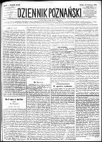 Dziennik Poznański : wychodzi codziennie z wyjątkiem poniedziałków i dni poświętnych, R.24, nr 191 (23 sierpnia 1882) + dod.