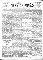 Dziennik Poznański : wychodzi codziennie z wyjątkiem poniedziałków i dni poświętnych, R.24, nr 203 (6 września 1882)