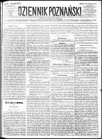 Dziennik Poznański : wychodzi codziennie z wyjątkiem poniedziałków i dni poświętnych, R.24, nr 188 (19 sierpnia 1882)