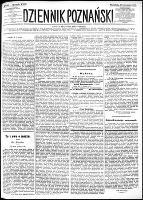 Dziennik Poznański : wychodzi codziennie z wyjątkiem poniedziałków i dni poświętnych, R.24, nr 189 (20 sierpnia 1882) + dod.