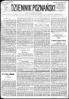 Dziennik Poznański : wychodzi codziennie z wyjątkiem poniedziałków i dni poświętnych, R.24, nr 190 (22 sierpnia 1882) + dod.