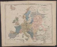 Tabula geographica Europae ad statum, quo sub finem Anni 1000 post Christ. nat. fuit - L