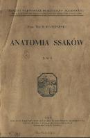 Anatomia ssaków. T. 4 - Poplewski, Roman (1894-1948)