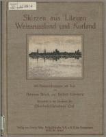 Skizzen aus Litauen, Weissrussland und Kurland - Struck, Hermann (1876-1944)