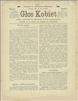 Głos Kobiet, 1909, Nry 3, 5